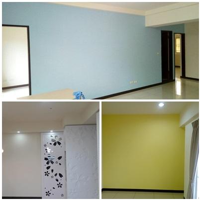 油漆工程,室內油漆,粉刷油漆,跳色油漆,跳色油漆價格,天花板油漆,居家油漆,公寓油漆,套房油漆 - 日誌用相簿