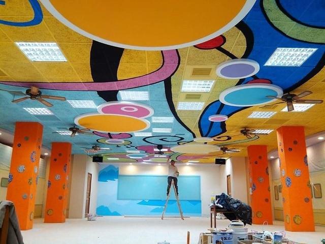 牆壁彩繪,彩繪施工,彩繪價格,外牆彩繪,天花板彩繪,星空彩繪,室內彩繪,鐵捲門彩繪,室內油漆彩繪 - 日誌用相簿