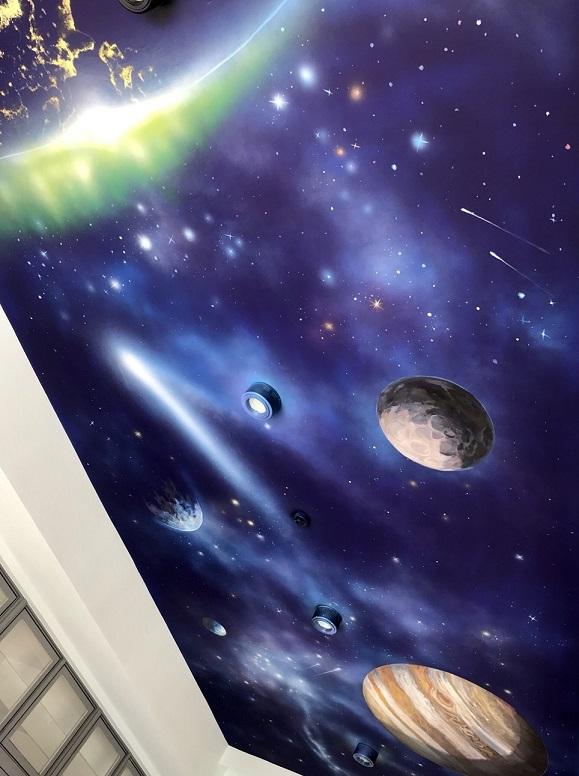 日誌用相簿:星空彩繪,星空彩繪價格,星空壁畫,星空設計,星空油漆,星空牆壁彩繪,天花板星空彩繪價格