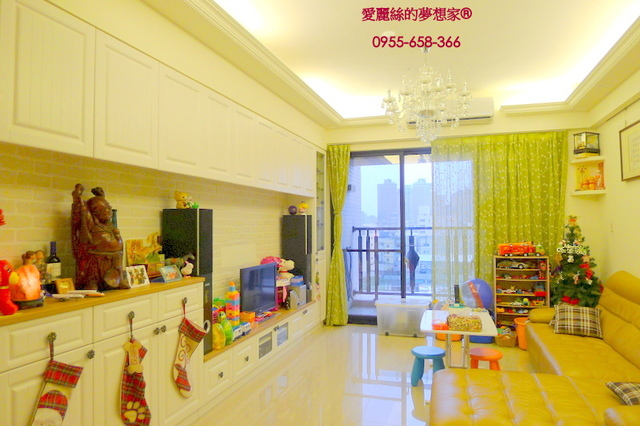 時代花園6F-客廳2.JPG - 十興國小【時代花園大廈】綠園景觀三房