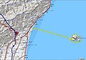 龜山島山:龜山島航行航跡圖.JPG