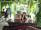 20090914-大溪Tina廚房&愛情故事館:拍累了就到旁邊咖啡廳小歇!
