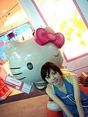 20090830-我來了,沖繩:航廈裡可愛的Kitty店