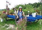 20090914-大溪Tina廚房&愛情故事館:吃完跑到後頭花園取景照像