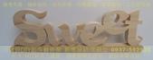 木片中文字、木工中文字、木片英文字母、數字擺飾、婚禮宴客佈置、婚紗拍攝道具、小寶貝DIY創意館:SWEET 木片中文字、木工中文字、木片英文字母、數字擺飾、婚禮宴客佈置、婚紗拍攝道具、小寶貝DIY創意館