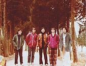 PingClassOutings平班歷年活動與郊遊:1980 Winter in HerHwan Mountain, Three Chengchi Pingladies: Ginying, TsunChi, Showmei