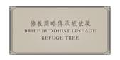 文章介紹牌:佛教簡略傳承皈依境  BRIEF BUDDHIST LINEAGE  REFUGE TREE XUITE.jpg