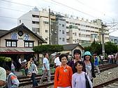 台鐵郵輪式列車-海線尋幽之旅(981024):追分火車站 981024