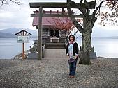 奧之細道楓情(第二天)971104:田澤湖畔-浮水神社