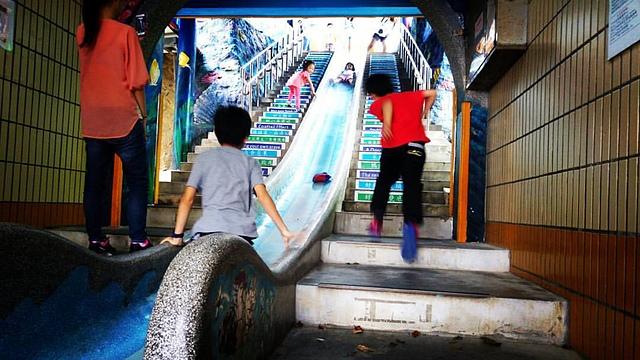 濂洞國小.jpg - 累積時間。累積幸福。滑梯之旅