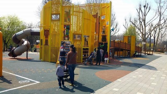 韓國兒童大公園2.jpg - 累積時間。累積幸福。滑梯之旅