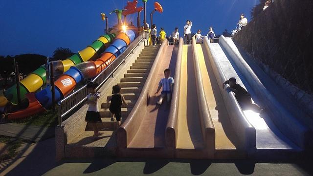 桃園.jpg - 累積時間。累積幸福。滑梯之旅