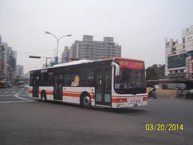 公車巴士-台中客運:台中客運 192-U8