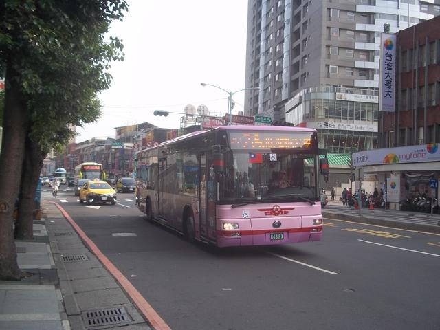 公車巴士-欣欣客運:欣欣客運  843-FX