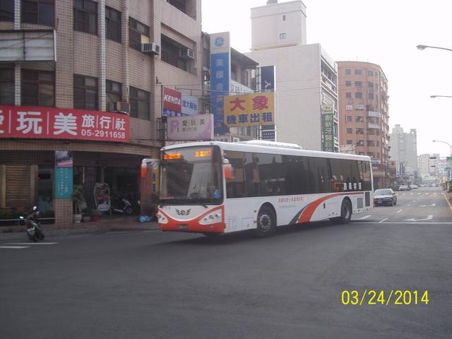 公車巴士-三地企業集團:嘉義客運 891-FT