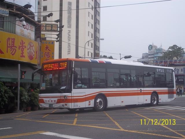 公車巴士-台中客運:台中客運 111-U8