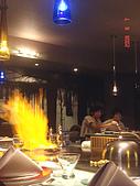 鬥牛士&頂級夏慕尼新香榭鐵板燒&佰鈺校友會IN義式古拉爵:美味的料理酒灑下去噴火了.jpg