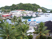 帛琉真美麗四日遊DAY1&DAY2:老爺飯店本身就有自己的碼頭.JPG