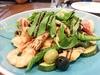 生態蝦、小卷、鮮魚、節瓜