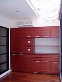 94年獨立室內設計作品(新營黃公館獨棟設計):主臥書房-2