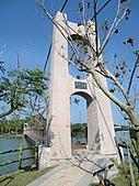 新化虎頭埤:虎月吊橋