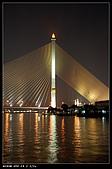 曼谷:船上看泰國斜張橋