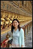 曼谷:玉佛寺..裡頭不能拍..站外面拍一張...