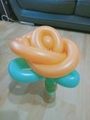 我的氣球作品:玫瑰花