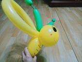 我的氣球作品:小蜜蜂