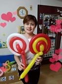 我的氣球作品:棒棒糖造型氣球