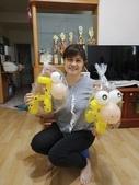我的氣球作品:長頸鹿造型氣球