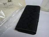 COACH皮夾-全部現貨-實物拍攝 :皮夾110號 COACH 經典熱賣長夾多功能長夾黑色-1=1250 (1).jpg