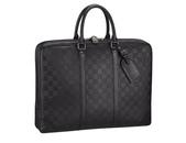 LV經典熱賣男包-全部現貨-實物拍攝 :包包145號 LV-N41146-黑色皮質手提包 公事包尺寸W41D7H31cm=3500.jpg