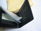 LV短夾-全部現貨-實物拍攝 :皮夾6號 LV M60930 黑色十字紋名片夾 卡片夹=850 (1).jpg