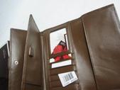 COACH皮夾-全部現貨-實物拍攝 :皮夾107號 COACH 經典熱賣多功能長夾咖啡色=1250 (2).jpg