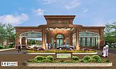 板橋*久泰建設*的優質建築豪宅*葛念台盡心完美繪製:x久泰板橋花園入口大門區.jpg