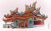 廟宇建築圖:福德宮-李重耀設計