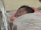 *黃二妞寫真館*:1000217晚上7點多 二妞人生的第一張照片 臉上那道紅紅的醫生說是出生時刮到的