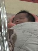*黃二妞寫真館*:訪客時間隔著玻璃拍的 剛出生時肚子有點大 醫生直接送去嬰兒室 所以沒有拍到照片