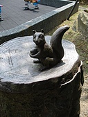 970809大板根森林遊樂區:可愛的小松鼠