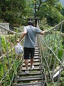 970809大板根森林遊樂區:出乎意料晃的吊橋