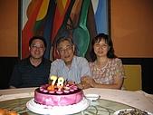 武漢二伯相本:二伯78歲生日照