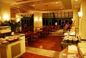 20120116A 早餐‧雨中熊本城:餐廳早餐