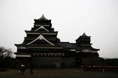 20120116A 早餐‧雨中熊本城:『熊本城』-雨中大小天守閣
