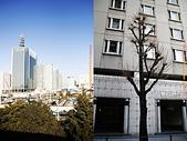 20110114 第一天 橫濱港未來21、紅磚倉庫、LAND MARK 購物廣場:前往橫濱的街景