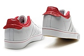 Adidas非主流男生版:Adidas非主流男生版白红头层皮 36--45