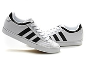 Adidas非主流版女生版:Adidas非主流版女生版白黑牛津布 36--45
