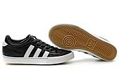 Adidas非主流版女生版:Adidas非主流版女生版黑白头层皮 36--45