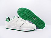 AdidasSMS系列:AdidasSMS系列SMS 白绿条纹