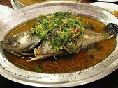2009.01.27 年初二(虎仔餐廳、煙火):清蒸鱸魚